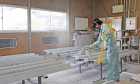 MWさま塗装作業ブース