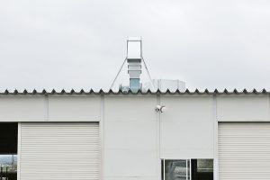 MW_局所排気_ダクト設置